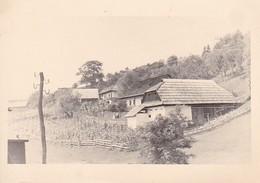 Foto Bauernhaus Mit Gemüsegarten - Ca. 1940 - 9,5*6cm (38750) - Métiers