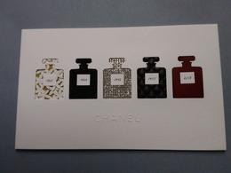 CHANEL : Cartes  Vœux  2019 - Cartes Parfumées