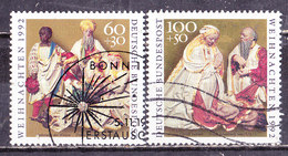 Germania Federale 1992-Natale  -Serie Completa Usata - [7] République Fédérale