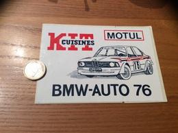"""AUTOCOLLANT, Sticker ** """"BMW-AUTO 76 - KIT CUISINES - MODUL"""" (voiture, Huile) - Autocollants"""