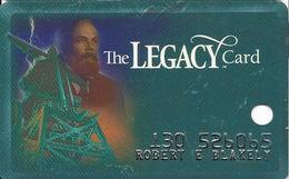 Silver Legacy Casino Reno NV - 3rd Issue Slot Card With (R) In Reverse Logo - Cartes De Casino
