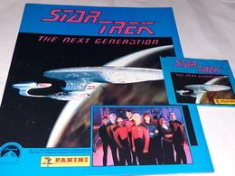 Star Trek The Next Generation Album Vioto+1 Bustina Con Figurine Stikers Panini - Panini