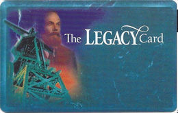 Silver Legacy Casino Reno NV - BLANK 4th Issue Slot Card With Web Address Under Logo - Cartes De Casino