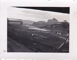 Foto Zerstörte Eisenbahnbrücke - 2. WK - 5*4cm (38753) - Guerre, Militaire