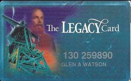 Silver Legacy Casino Reno NV - 4th Issue Slot Card With Web Address Under Logo - Cartes De Casino