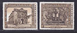 GUATEMALA AERIENS N°  563, 564 ** MNH Neufs Sans Charnière, TB (D8207) Tourisme, Ruines Antiques 1975 - Guatemala