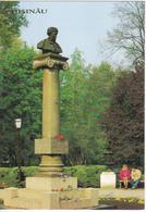 Moldova  Moldawien   Moldau   1990  ;  Chisinau , Monument To A.S.Pushkin ; Postcard - Moldova