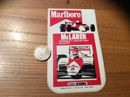 "AUTOCOLLANT, Sticker ""Marlboro - Mc LAREN - FORMULE 1 CAN AM INDY - Doug Nye"" - Autocollants"