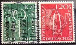 ALLEMAGNE FEDERALE                 N° 93/94                  OBLITERE - [7] République Fédérale