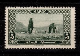 Maroc - YV 122 N* Volubilis Cote 3,30 Euros - Maroc (1891-1956)