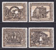 GUATEMALA AERIENS N°  562, 563, 564, 566 ** MNH Neufs Sans Charnière, TB (D8208) Tourisme, Ruines Antiques 1975 - Guatemala