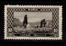 Maroc - YV 123 N* Volubilis Cote 11 Euros - Maroc (1891-1956)