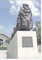 2014 , Moldova  Chisinau , Monument - 65 Years Of The Second Deportation Of Bessarabia , Railway Station , Postcard - Moldova