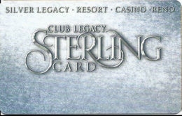Silver Legacy Casino Reno NV - BLANK 5th Issue Slot Card - Cartes De Casino