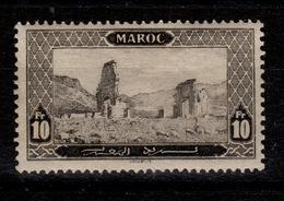 Maroc - YV 79 N* Volubilis Gomme Foncies Et Glacée (scan) Cote 48,50 Euros - Maroc (1891-1956)