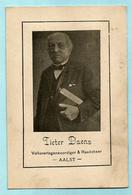 Doodsprentje PIETER DAENS (1842-1918) - Volksvertegenwoordiger AALST - Devotion Images