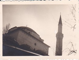 Foto Moschee Mit Minarett - 1937 - 8*5,5cm (38757) - Orte