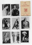 Publicité Sucre Oreye  Chromos Famille Royale De Belgique La Reine Astrid 5x8 - Publicité