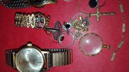 Lot De Bijoux Et Montres à Identifier - Jewels & Clocks