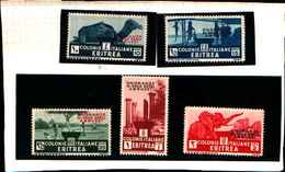 90165) ERITREA- Onoranze Al Duca Degli Abruzzi - Maggio 1933   -MLH* - Erythrée