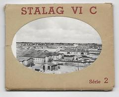 Stalag VI C Guerre 40-45 Série De 10 Images 7x9 - Vieux Papiers