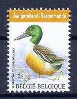 BELGIE * Buzin * Nr 4537 * Postfris Xx * WIT  PAPIER - 1985-.. Oiseaux (Buzin)