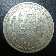 Tunisia 20 Franks 1934 (1353AH) - Tunisie