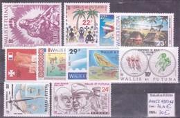 WALLIS & FUTUNA - Année Complète 1989 ** - TB - Wallis-Et-Futuna