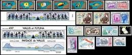 WALLIS & FUTUNA - Année Complète 1992 ** - TB - Wallis-Et-Futuna