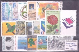 WALLIS & FUTUNA - Année Complète 1994 ** - TB - Wallis-Et-Futuna
