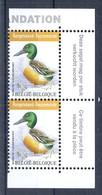BELGIE * Buzin * Nr 4537  Franse + Vlaamse Tekst * Postfris Xx * WIT  PAPIER - 1985-.. Oiseaux (Buzin)