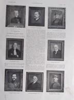 Illustrations De Marcel BASCHET   Les Portraits 1932 - Old Paper