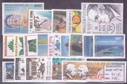 WALLIS & FUTUNA - Année Complète 1995 ** - TB - Wallis-Et-Futuna