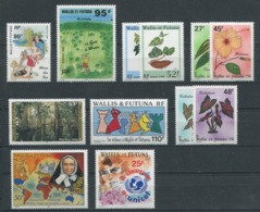 WALLIS & FUTUNA - Année Complète 1996 ** - TB - Wallis-Et-Futuna