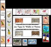 WALLIS & FUTUNA - Année Complète 2001 ** - TB - Wallis-Et-Futuna