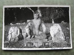CAMBODJA - CARTE PHOTO ANGKOR THOM 1933 ( Scan Recto/verso ) - Cambodia