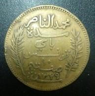 Tunisia 10 Centimes 1911 Mohammed V - Túnez
