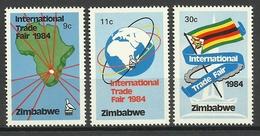 ZIMBABWE 1984 INTERNATIONAL TRADE FAIR SET MNH - Zimbabwe (1980-...)