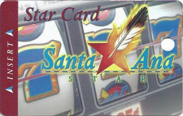 Santa Ana Star Casino - Santa Ana Pueblo, NM - BLANK 1st Issue Slot Card - Short Address Line - Cartes De Casino