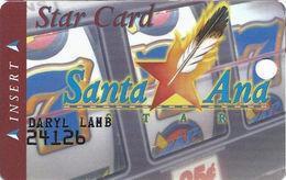 Santa Ana Star Casino - Santa Ana Pueblo, NM - 1st Issue Slot Card - Short Address Line - Cartes De Casino