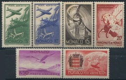 MONACO - PA N°2-7 ** - Poste Aérienne