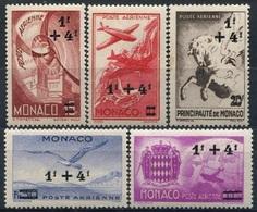 MONACO - PA N° 8-12 ** - Poste Aérienne