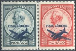 MONACO - PA N° 13-14 * - Poste Aérienne