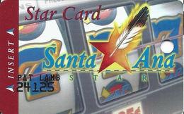 Santa Ana Star Casino - Santa Ana Pueblo, NM - 2nd Issue Slot Card - Long Address Line - Cartes De Casino