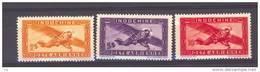 Indochine  -  Avion  :  Yv  36-38  ** - Airmail