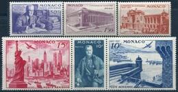 MONACO - PA N° 22-27 ** - Poste Aérienne