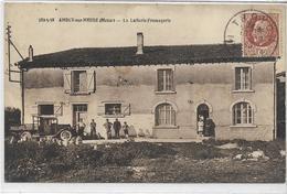 55 AMBLY-SUR-MEUSE . La Laiterie-fromagerie Animée ,  , édit : Henri Brunot Paris 14ème, écrite En 1943 , état Extra - France