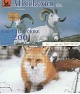 TARJETA TELEFONICA DE ALBANIA. FAUNA - Rams. 01.2002, ALB-83 (021) - Albania
