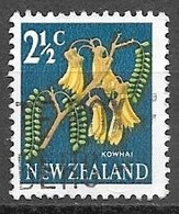 1967 2-1/2 Cents Kowhai, Used - New Zealand