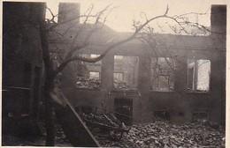Foto Zerstörtes Haus - Ruinen - 2. WK - 8,5*5,5cm (38764) - Guerre, Militaire